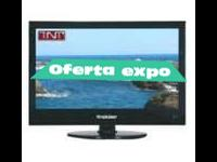 "TV + DVD 24 ""  HD  USB  12/220v"